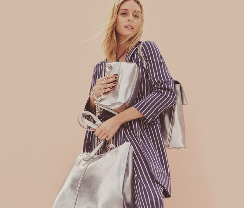 Olivia Palermo stars in MAX&Co. features striped separates in spring 2017 campaign