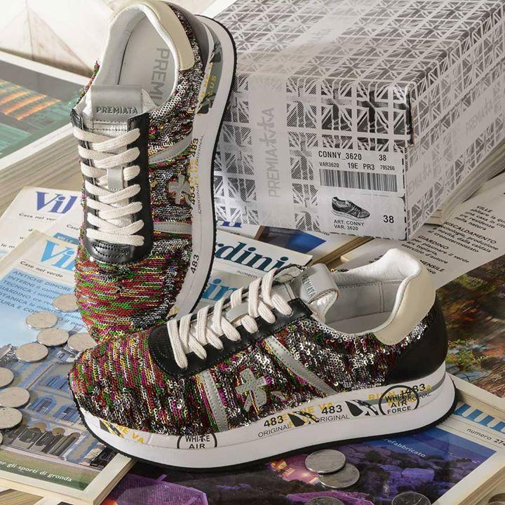Premiata #Sneakers donna Nuova collezione PE19 . A