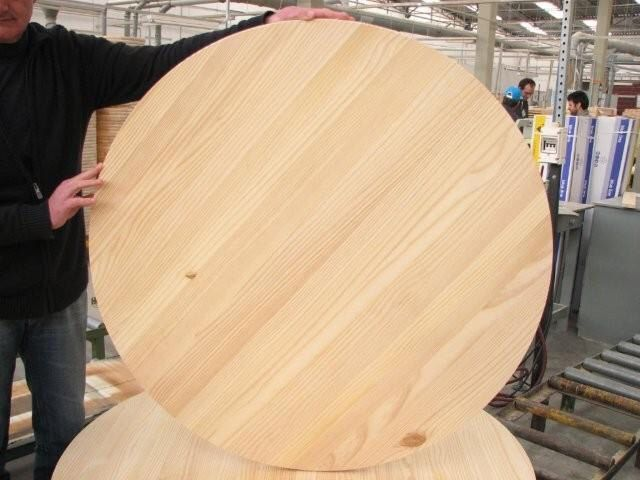 Unfinished Pine Round 40 For Table Top Or Sign Wooden Table Top