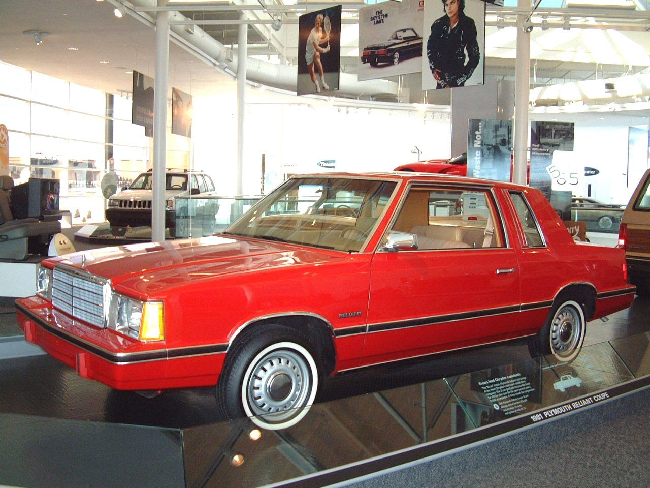 Plymouth Reliant K. The car that saved Chrysler from the