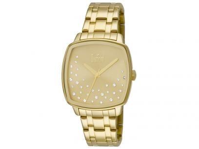 d7c036b093e23 Relógio Feminino Dumont Analógico - Resistente à água DU2036LSS 4D com as  melhores condições você