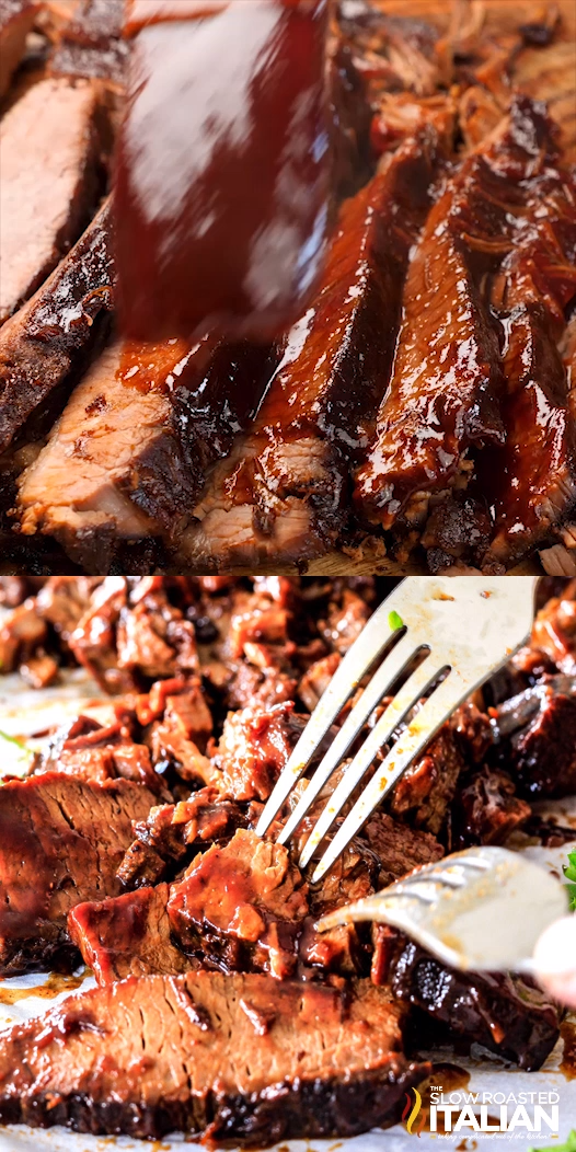 Slow Cooker Beef Brisket #slowcookerrecipes