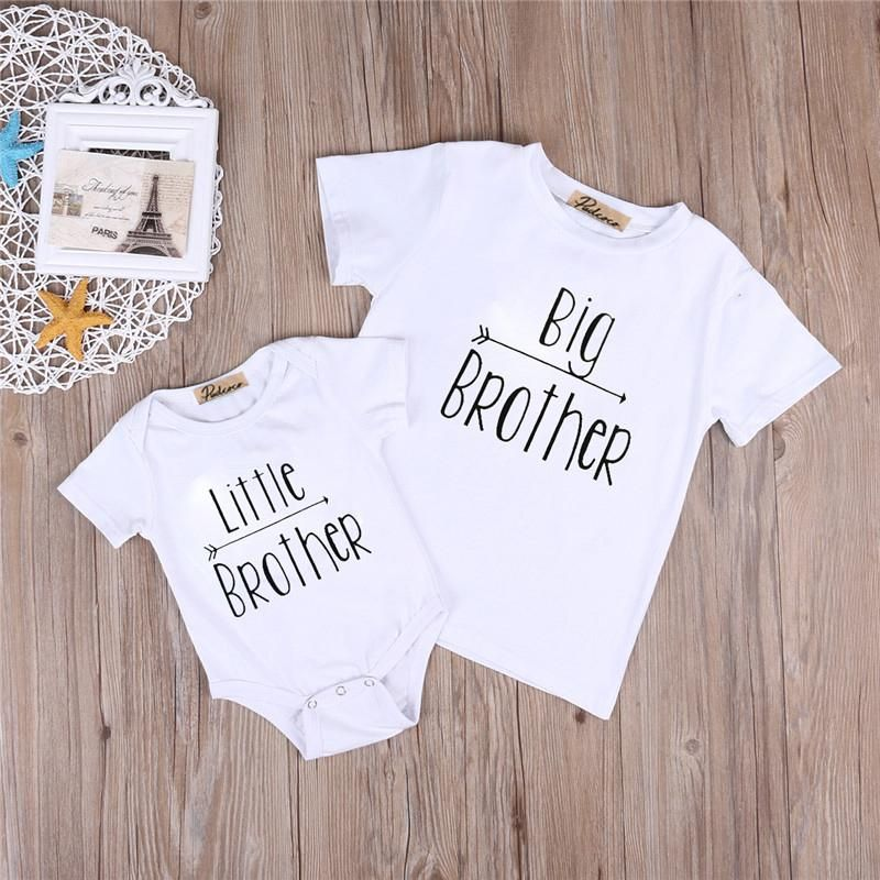 Big Brother T Shirt Or Little Brother Onsie Monos Ropa Ropa Bebe Nina Ropa Para Ninas