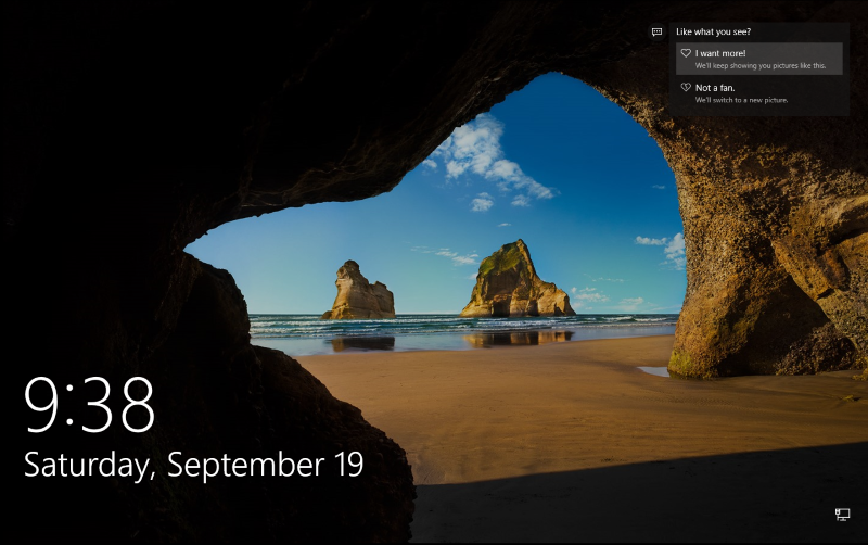 Tutorial Here's how you can save Windows 10 lockscreen's