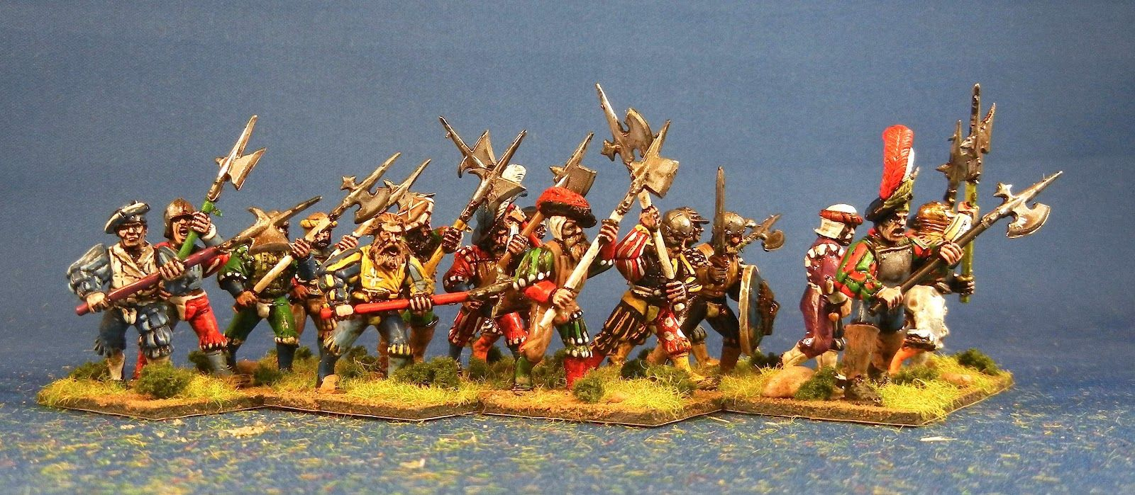 Bob's Miniature Wargaming Blog: More 28mm renaissance