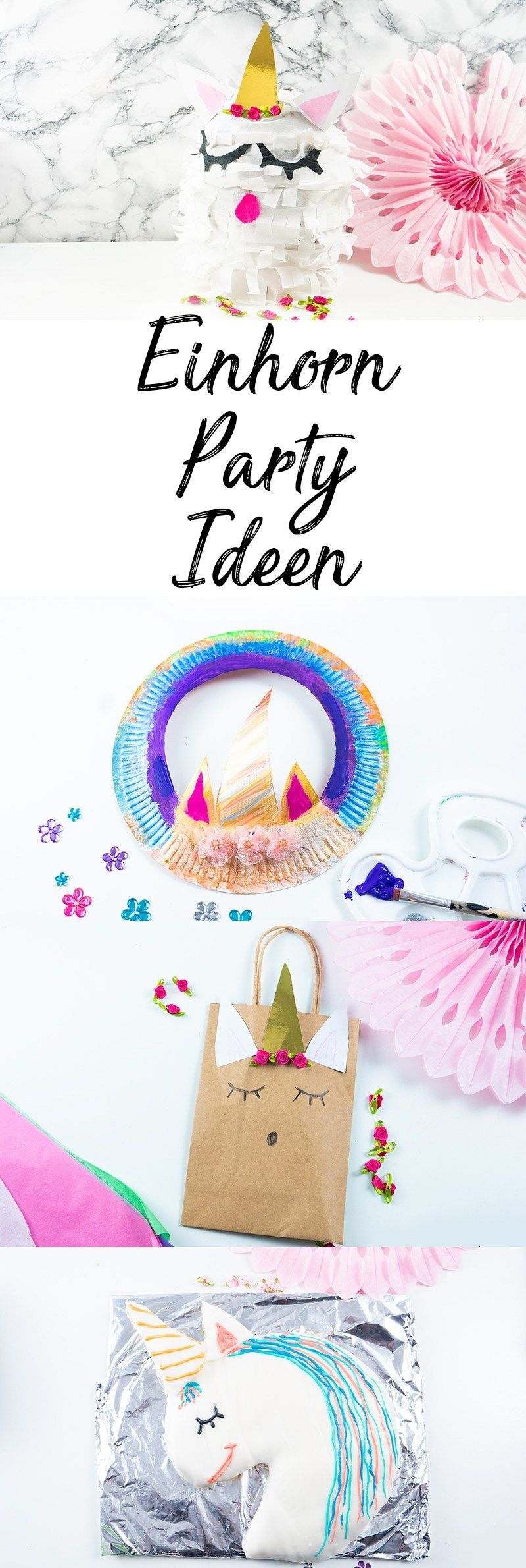 Photo of Unicorn birthday: 6 ideas and recipes – Mama Kreativ