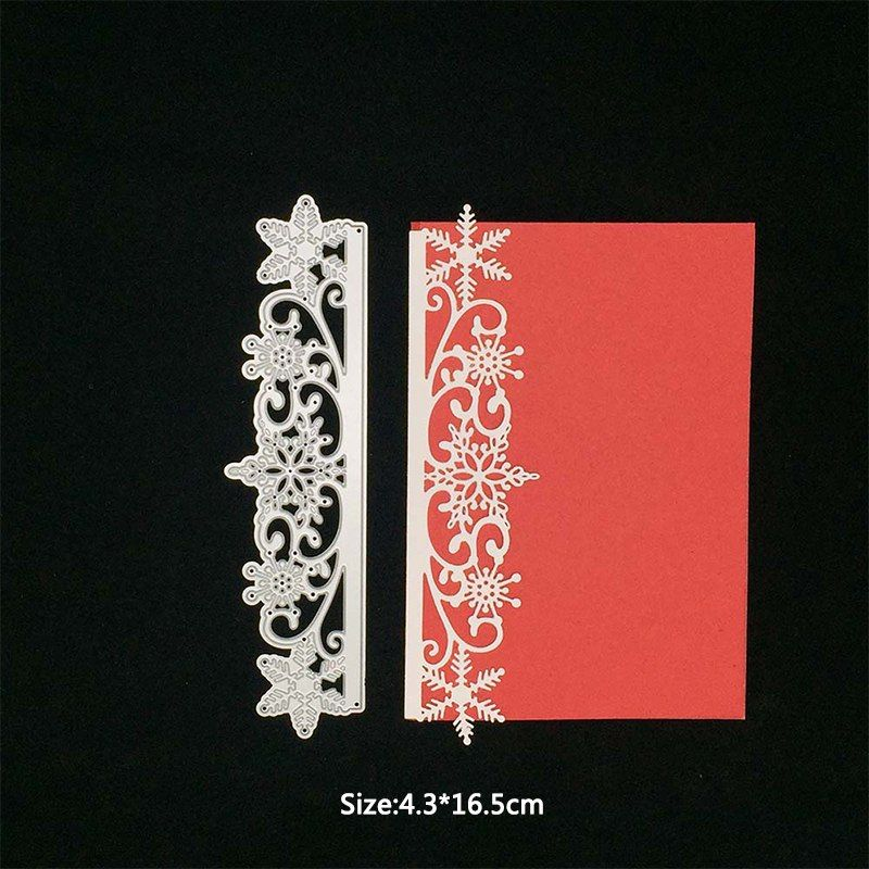 Card Lace Metal Cutting Dies Stencils for Scrapbooking DIY Craft Embossing TK