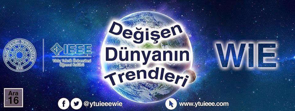 Yıldız Teknik Üniversitesi 'nde #ytu düzenlenecek, herkesin katılımına açık ve tamamen #ücretsiz olan Değişen Dünya Trendleri etkinliğine davetlisiniz.   Detaylara sitemizden; http://www.hadigenc.com/2014/12/degisen-dunyann-trendleri-etkinligi.html ulaşabilirsiniz.  #is #kariyer #egitim #etkinlik #seminer #konferans #uni #ogrenci