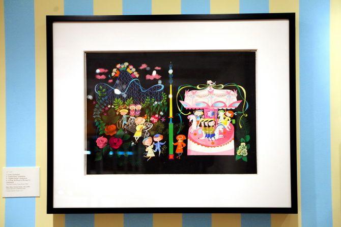 The Cherry Blossom Girl - Magic Color Flair, The World Of Mary Blair 27