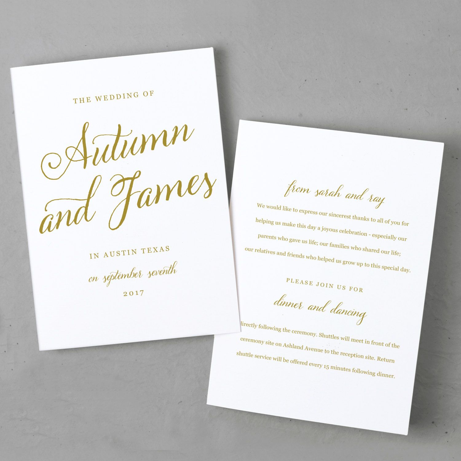 how to create a wedding program in word