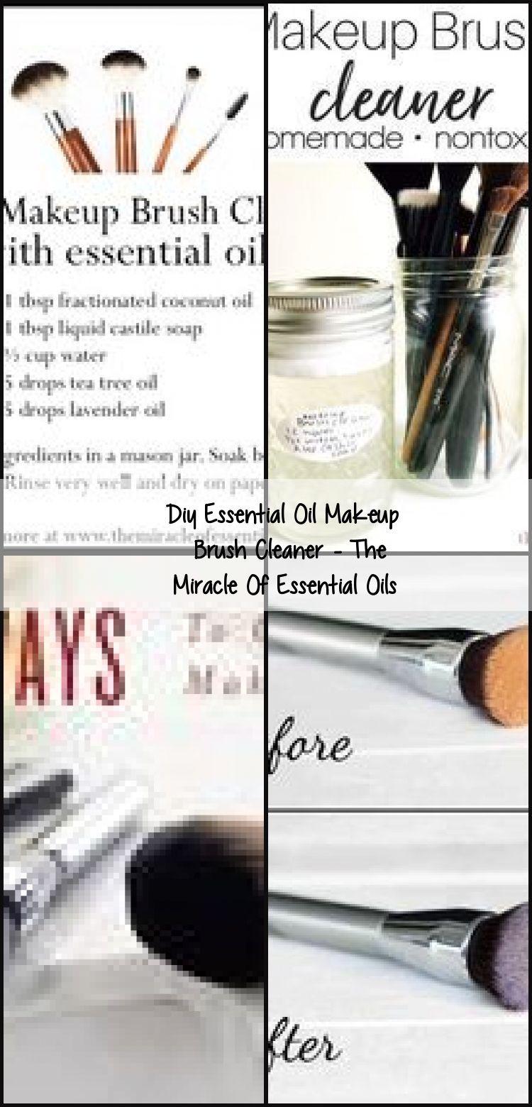 Photo of Diy Essential Oil Makeup Brush Cleaner – The Miracle Of Essential Oils,  #diymak…