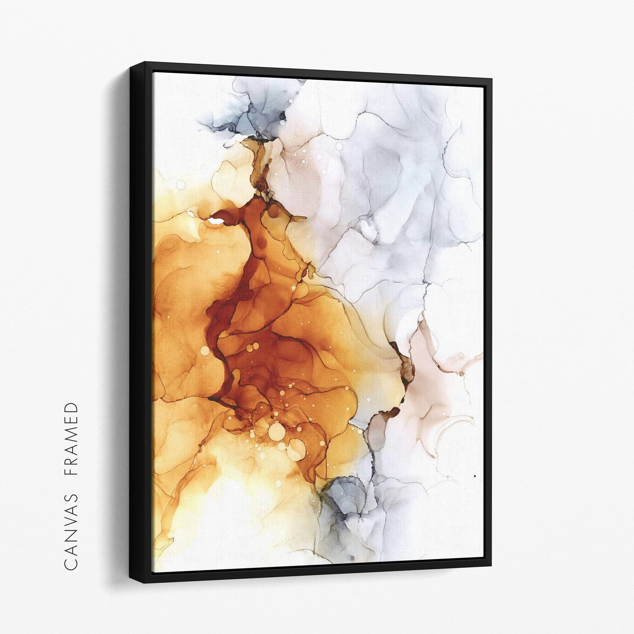 handpicked wandbilder einfach schone bilder online kaufen alkohol tinte kunst mit alkoholfarben leinwand foto 120x80 fotoleinwand rahmen