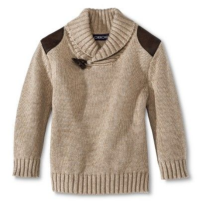 Infant Toddler Boys' Sweater - Oatmeal Heather 12 M - Size: 2T Http://www.target.com/p/infant-toddler-boys-sweater/-/A