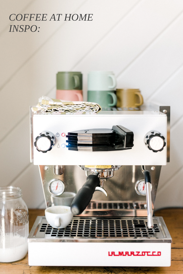 Scout Coffee Home Set Up Home Barista Goals Italian La Marzocco Linea Mini Coffee Shop Decor Coffee Shops La Coffee