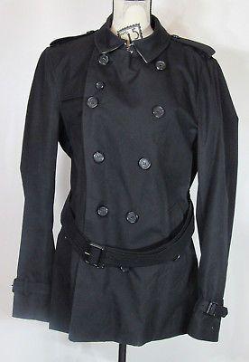 646df9b7251f Burberry Short Sandringham Men s Trench Coat Black. Size 54 (UK) 44 ...