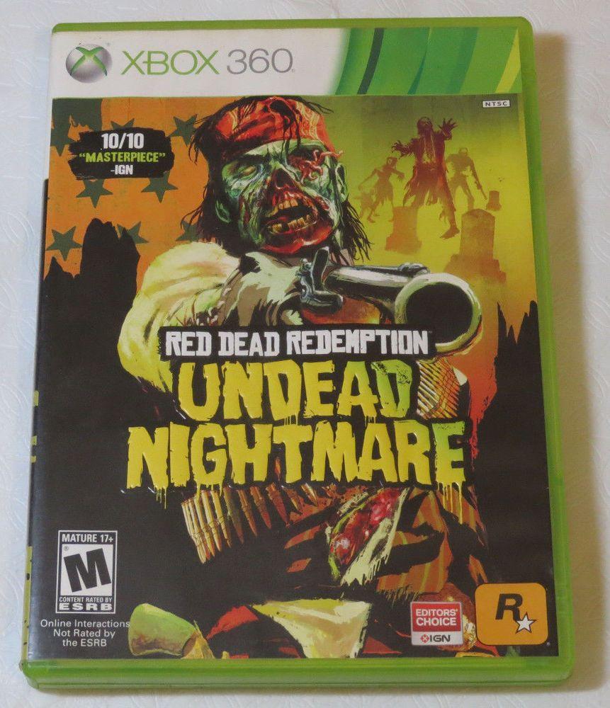 Red Dead Redemption Undead Nightmare (Microsoft Xbox 360