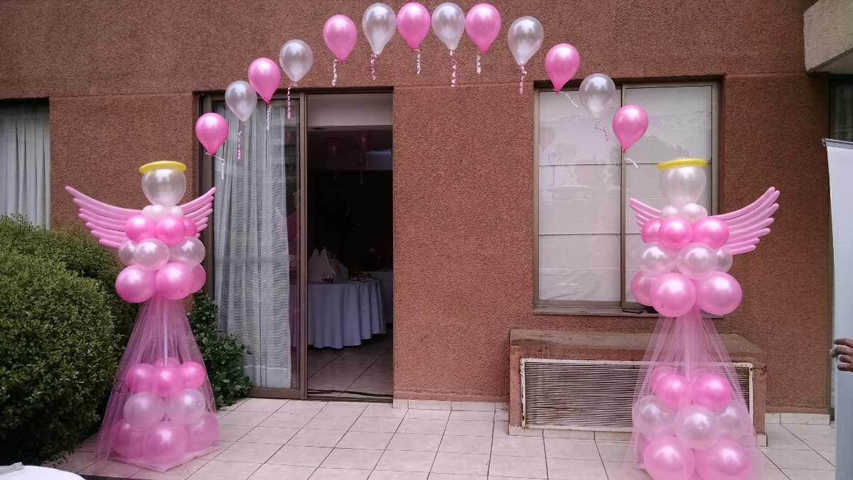 Bajada de techo con globos buscar con google - Decoracion de globos ...