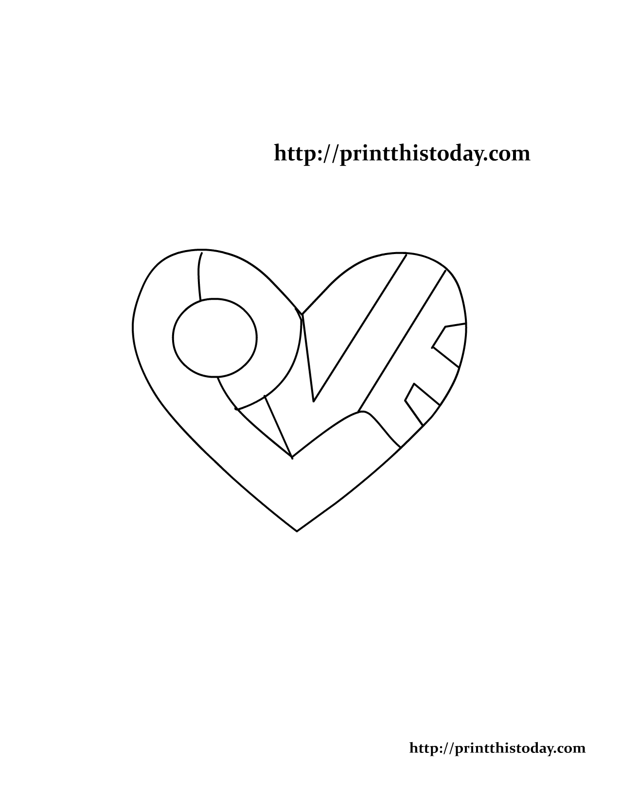Love Word Coloring Pages On This Cute Free Printable Love Themed Coloring Page The Word Love Love Coloring Pages Heart Coloring Pages Quote Coloring Pages