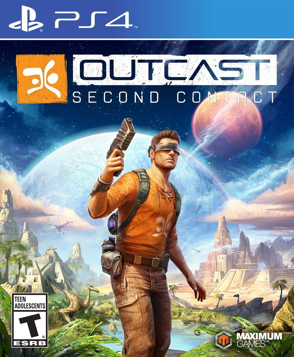 Outcast Second Contact PlayStation 4 Ps4 games, Ps4