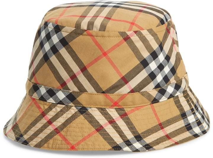 dac431a08 Burberry Chandy Check Bucket Hat | Products in 2019 | Kids outfits ...