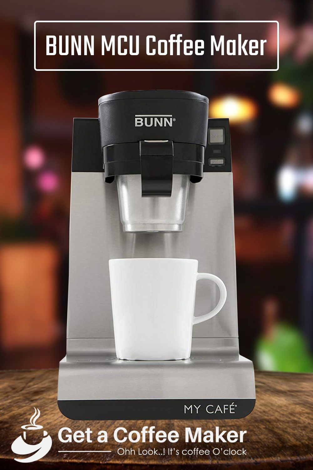 Tested Bunn Mcu Single Cup Coffee Maker Review Get A Coffee