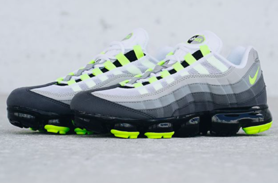 af9a1971de Get Ready For The Nike Air VaporMax 95 OG Neon The new Air VaporMax tech and