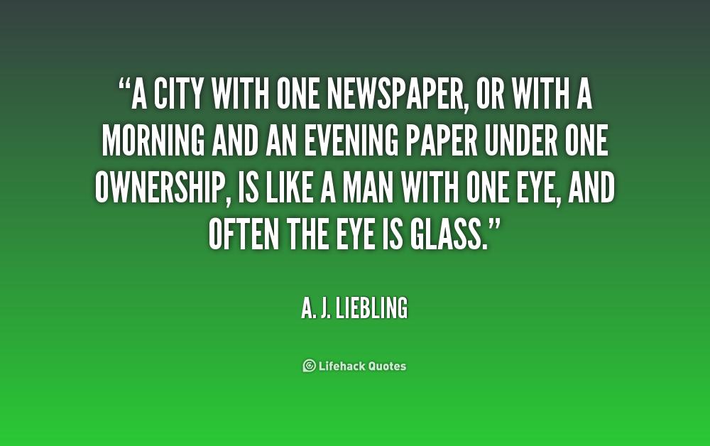 Newspaper Quotes Grateful Quotes Quotes Media Quotes