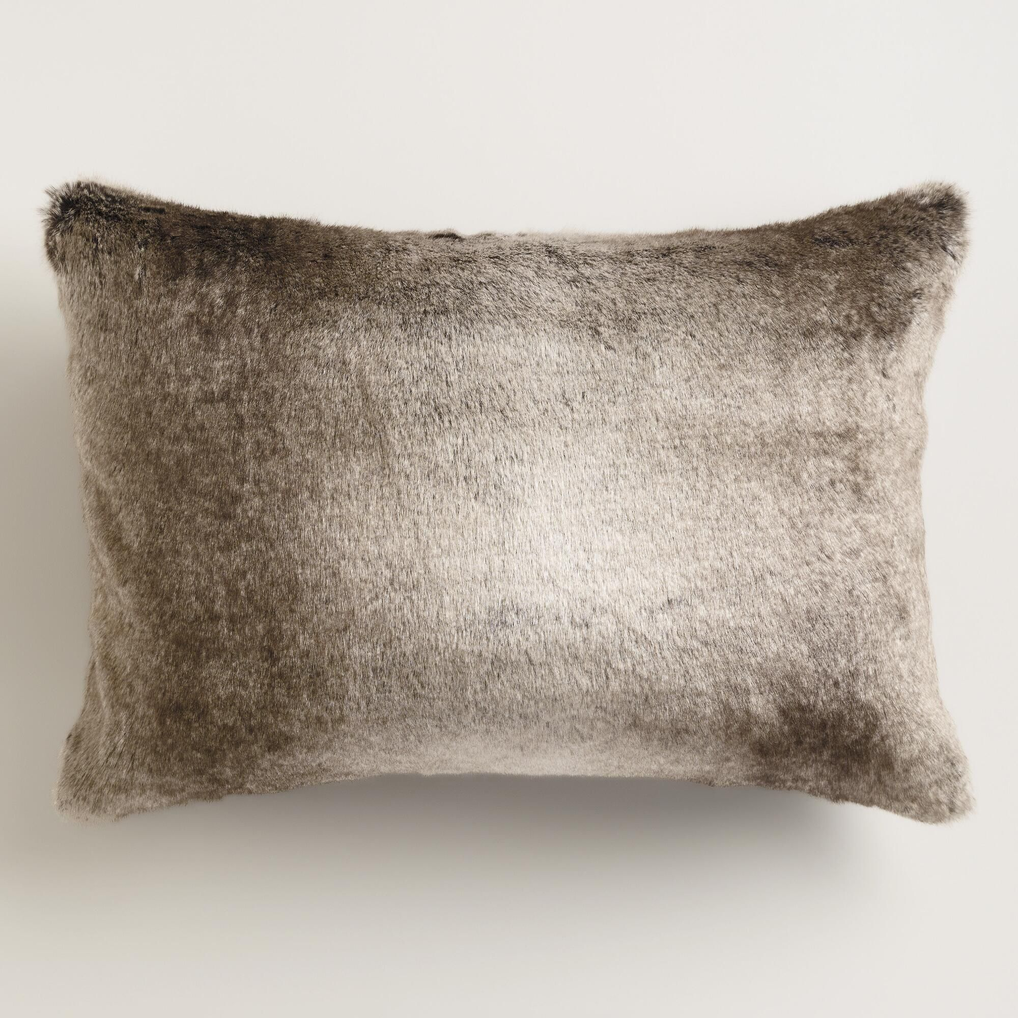 pillow evergreen urstadt swan copy of fur products clutch front product
