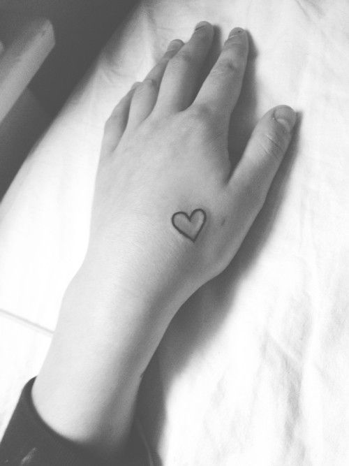 Love Hearts And All Hand Tattoo For Fashion Girls Tattoo Design