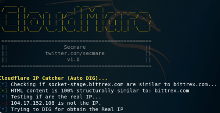 Cloudmare - Cloudflare real IP catcher | hacking tools