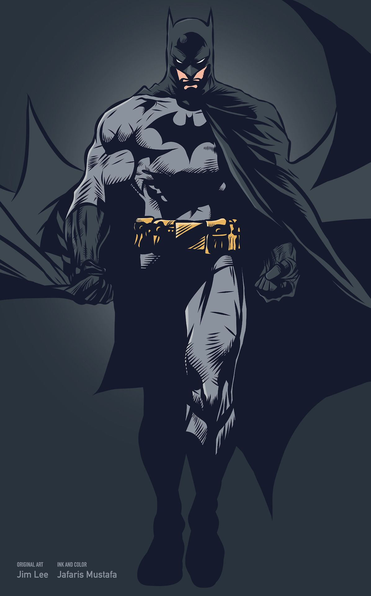 Batman by Jim Lee | Batman | Pinterest | Batman, Dunkelheit und Rahmen