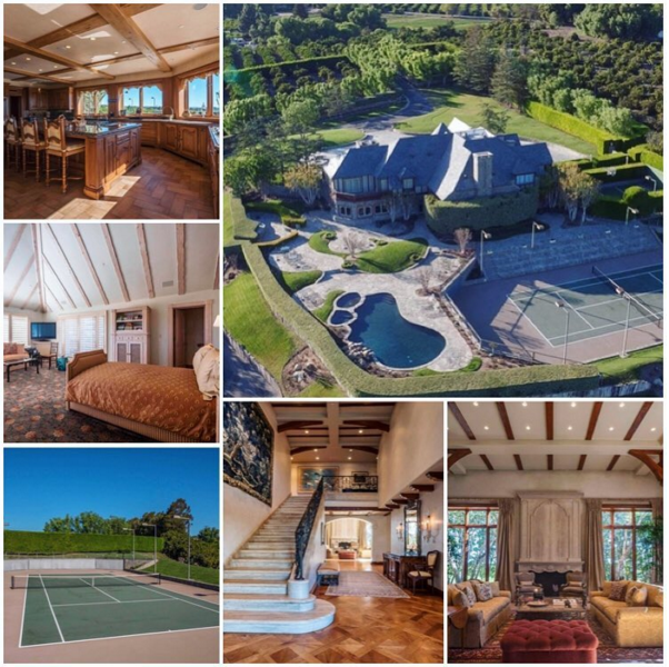5530 North Greentree Drive Somis Ca This Beautiful French Chateau Estate Offers A Large Scale Of Entertainment Luxury Real Estate French Chateau New Property