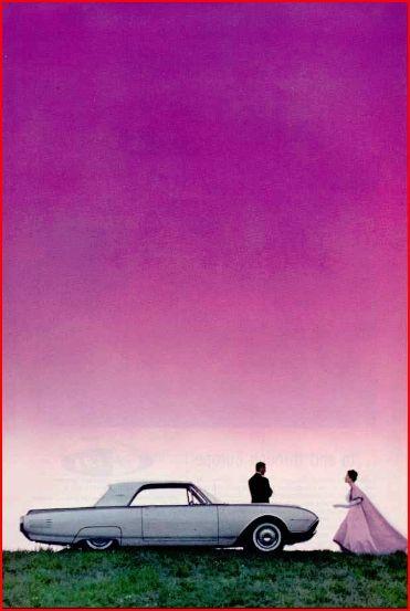 1960s Thunderbird : 1960s, thunderbird, Thunderbird, Advertisements,, Advertising,