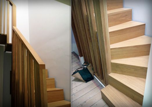 Loft Stairs Leading To Space Loft Stairs Loft Conversion Stairs