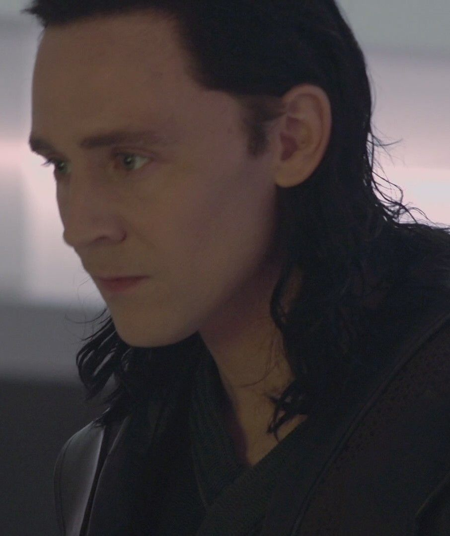 Imagine you are a cleaning maid in the dungeon, trying to comfort Loki in his cell.