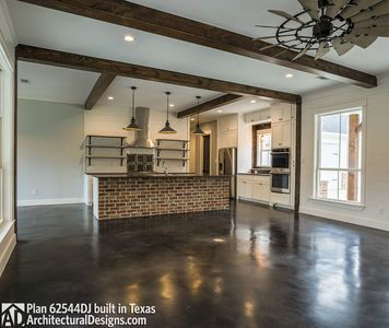 modern farmhouse plan 62544dj in reverse comes to life in texas