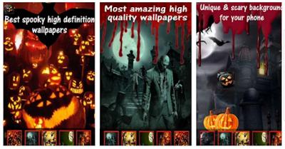 Top 10 Aplikasi Wallpaper Halloween Terbaik (Dengan gambar