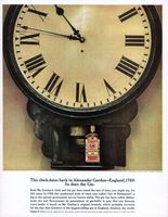 Gordon's London Dry Gin 1962 Ad Picture