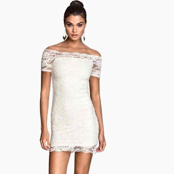 Off Shoulder White Lace Dress Lace White Dress Lace Dress Lace Dress Black