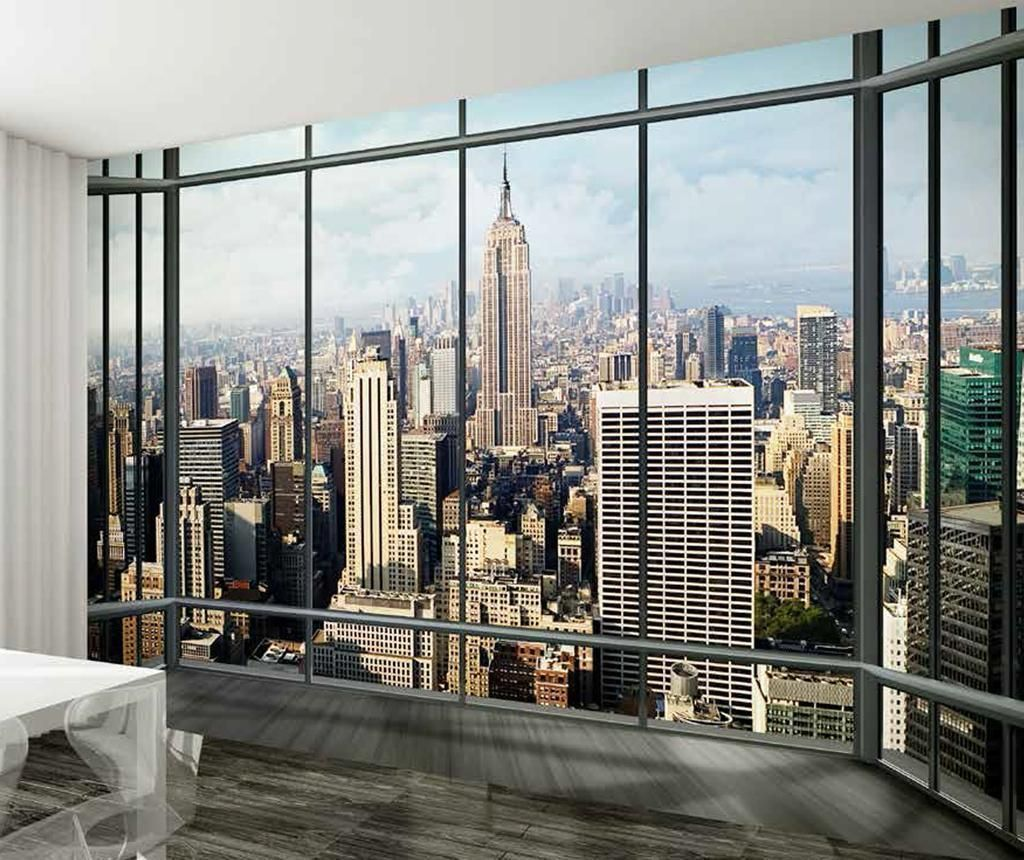 Muurposters New York.Tapet New York Mix Fotobehang New York En Muurposter