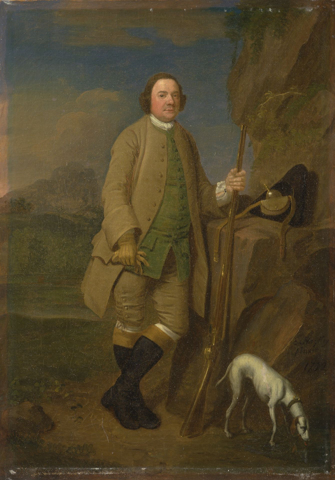 Edward haytley active 17401761 british a sportsman