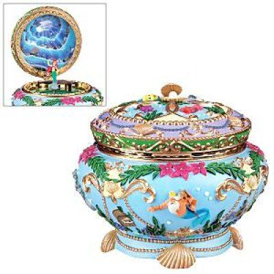 Ariel musical jewelry box I want this so badly disney things