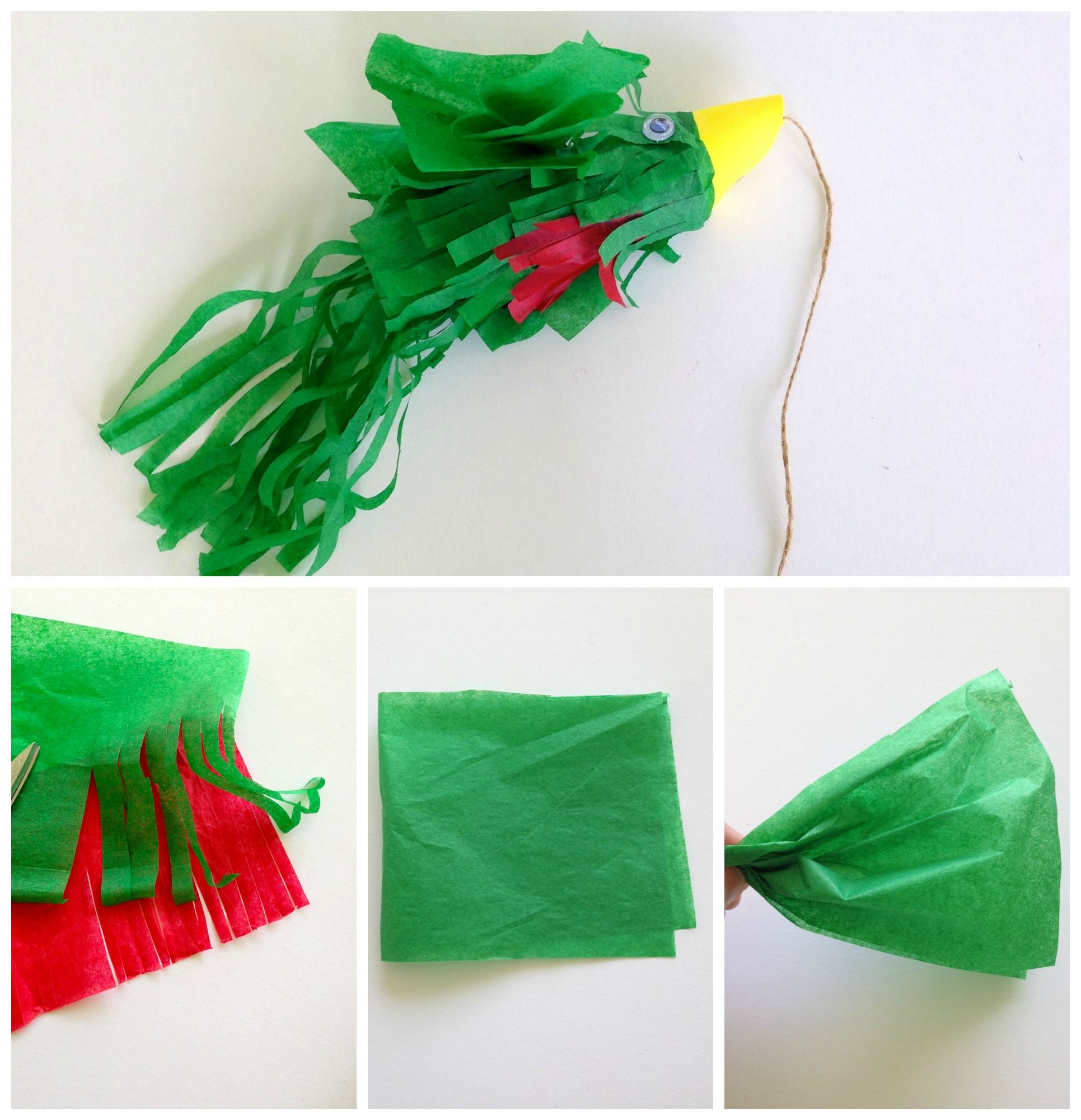 Make This Guatemalan Quetzal Craft With Toilet Paper Tube -2520