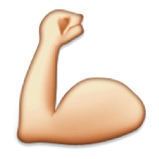 muscle emoji Google Search Fitness
