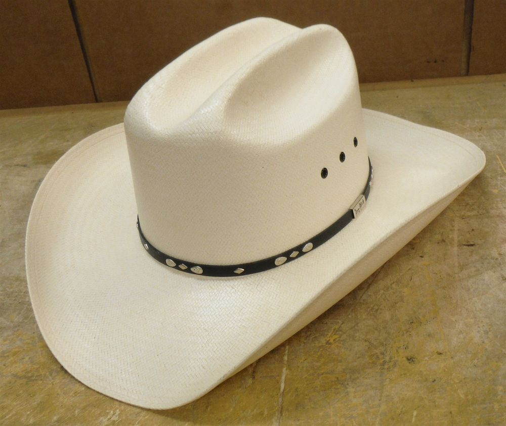2584be0d Resistol George Strait Collection 8X Shantung Western Cowboy Hat Sz =7 3/8  nd07 #fashion #clothing #shoes #accessories #mensaccessories #hats (ebay  link)
