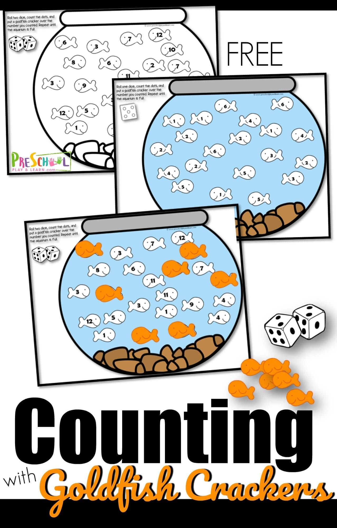 Free Counting With Goldfish Activity