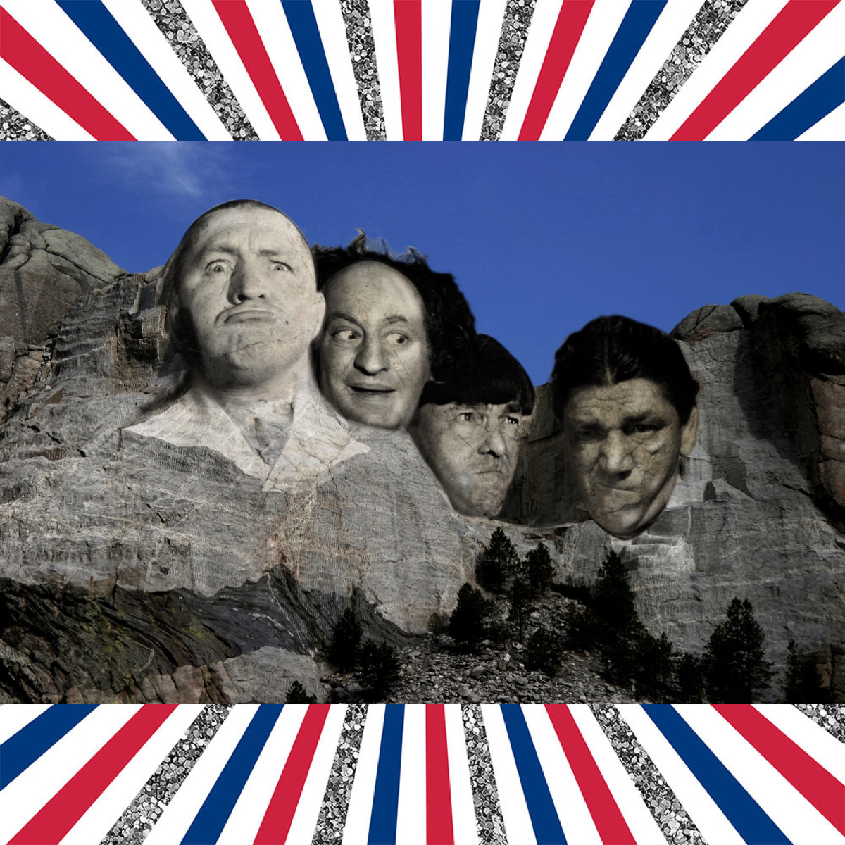 Mount Rushmore Was Formally Dedicated Today In 1927 We Decided It Was Time For A Facelift Nyuk Nyuk Nyuk T The Three Stooges Short Subject Funny Pictures