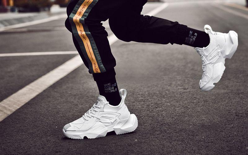 2019 Spring Kanye West Men Brand Platform Sneakers Fuzzishot Sneakers Men Fashion Sneakers Sneakers Fashion