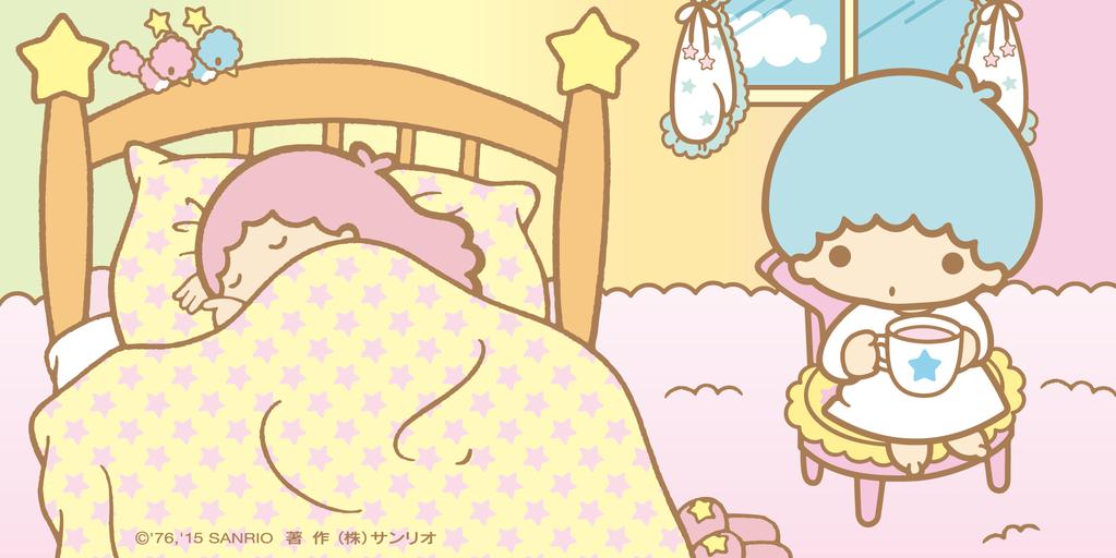 キキ「ララ、まだ寝ているのぉ。きのうは遅くまでどこに行ってたのかなぁ。」