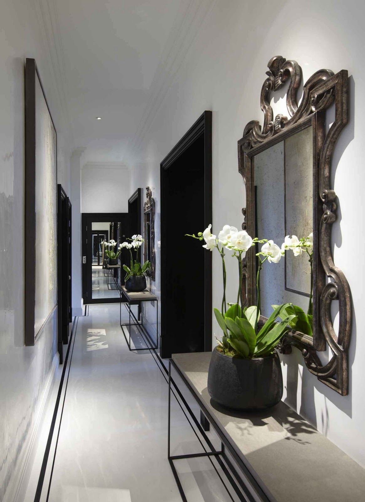 Louise bradley symmetry colours and mirror entrance pinterest
